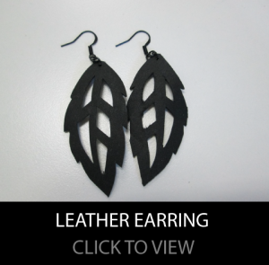 leather-earrings