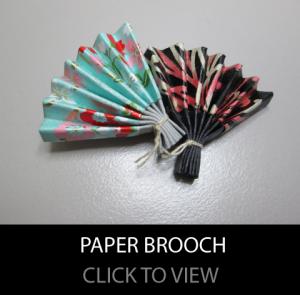 paper-brooch